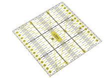 Transparentes Universal Patchwork Lineal Perfekt für Rollschneider in 15 x 15 cm