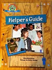 NEW 4H Helper's Guide Woodworking Wonders Group Activity Guide BU-06879