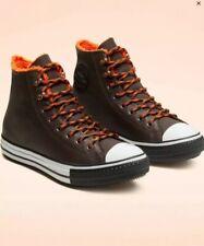 Converse Winter GORE-TEX  Taylor All Star Velvet Brown/Orange 165933C Sz 9.5