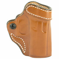 Desantis Criss-cross Belt Holster for Glock 43/43X Right Hand Tan Leather