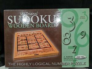 The Original Sudoku Wooden Board Game, BRAND NEW