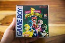Mighty Morphin Power Rangers (Nintendo Game Boy, 1994) CIB Box manual NEAR MINT