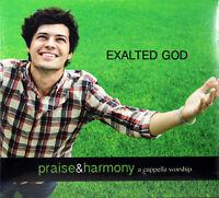 Keith Lancaster & the Acappella Company EXALTED GOD NEW CD Praise & Harmony