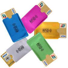 5x RFID Schutzhülle Blocker NFC Datenschutz f. EC Karte Kreditkarten Ausweis usw