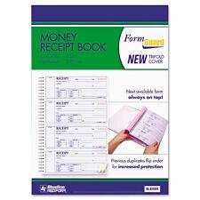 """Rediform Money Receipt Book, 23/4 x 7, Carbonless Triplicate, 100 Sets"""