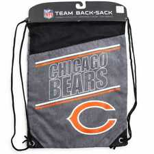 Chicago Bears NFL Backpack Drawstring Cinch Sack 17X13 FREE SHIPPING
