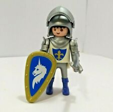 Playmobil Blue Unicorn Knight - Add on for Knights, Castle