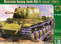 ARK - Russian Heavy Tank kv-1 Modelo 1941modell-bausatz 1 :3 5 TANQUE RUSO Kit