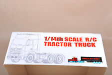 1:14 RC 3 Speed Tiaxial TRAILER Hauler Assembly Car For Tractor Truck #140401