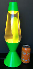 16 Inch Green Base Lava Lamp With Lime Green Goo