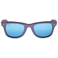 Ray Ban Original Wayfarer Cosmo Green Plastic Frame Blue Lenses 50mm Sunglasses