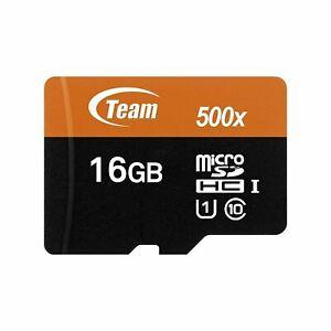 Team Group HIGH SPEED 16GB CLASS 10 Micro-SD Memory Card for Motorola HD MB886