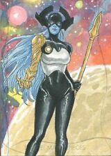 2020 Marvel Masterpieces Sketch Card By Abdul Ghofur