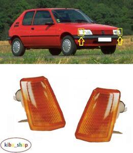 Pour Peugeot 205 1983 - 1997 2X Neuf Clignotants Avant Répéteur Gauche+Droit