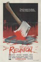 Slasher Studios Don't Go to the Reunion DVD (Horror, 2013)