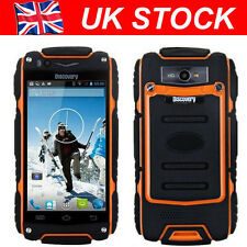 Unlocked Discovery V8 Smartphone Dual Core Rugged Android Mobile Phone Orange