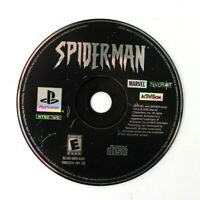 PS1 Spider-Man (Sony PlayStation 1, 2000) Disc Only Tested