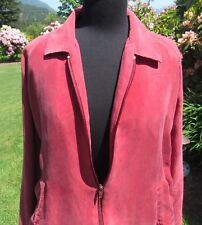 Neil's Bomber Jacket-Size L (16-16.5)-Possibly Silk (No Fabric Tag)-Zipper Front