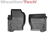 WeatherTech FloorLiner for Range Rover Sport - 2008-2013 - 1st Row - Black