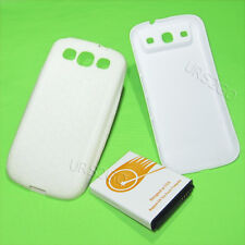 replacement extended battery with back cover case for Samsung Galaxy S3 i9300