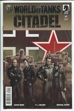 WORLD OF TANKS: CITADEL #1 - GARTH ENNIS STORY - ISAAC HANNAFORD COVER - 2018