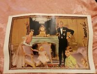 Coronation Portrait of the Royal Family - 1953 Picture Post Page