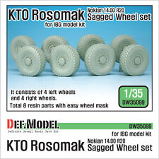 DEF. modello, DW35099, RST rosomak NOKIAN eccesso set Ruota (per salire), 1:35