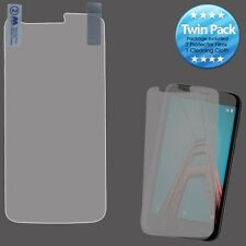 For Coolpad Defiant Twin Pack 2X LCD Screen Protector with Cleaning Cloth