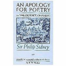 An Apology for Poetry (Or the Defence of Poesy) by Philip Sidney (2002,...