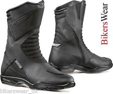 Forma Boots - Nero Black Touring Waterproof Breathable Motorcycle Boots RRP:£99