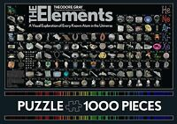 The Elements Jigsaw Puzzle: 1000 Pieces (Game), Gray, Theodore, 9...