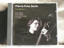 PIERRE YVES SORIN - COULEURS … CD NEAR MINT PIERRE-YVES