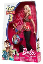 BARBIE LOVES WOODY DOLL Toy Story 3 Disney Pixar Collectible Fashion 2009 NEW