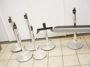 9 X B&O Ständer Floor Stands + 2 X Bang & Olufsen Center Speaker
