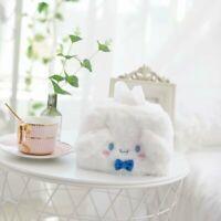 my melody fuzzy dog tissue holder cover tissue box gift manga new