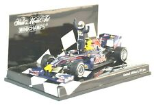 M1625 Minichamps F1 1:43 - 2009 RED BULL Racing #15 Vettel - Chinese GP + Figure