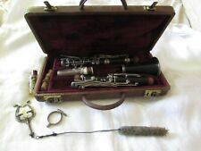 Vintage wood winds Pedler CLARINET & CASE P15081 musical instrument Elkhart IN