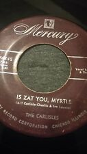 the carlisles is zat you myrtle & something different 70174