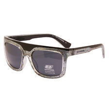 Diesel 55DSL - Black & Silver Ben Dover Classic Style Sunglasses with Case