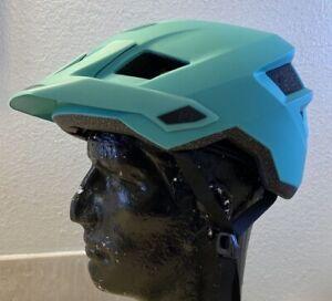 Leatt DBX 1.0 AM MTB Bicycle Helmet, Mint green, Size Large 59 to 63cm