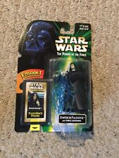 NIB Star Wars TPOTF Emperor Palestine, Force Lightning.  Flashback Photo.