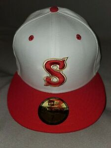 SYRACUSE METS NEW ERA 59 FIFTY MINOR LEAGUE FITTED MENS HAT SZ 7 MiLB RETRO