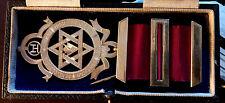 More details for xtra large vintage royal arch/chapter silver gilt breast jewel  richard spencer