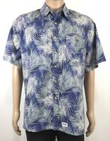 TOUCAN DANCE SZ L by Fast Lane Vintage Hawaiian Men's Shirt
