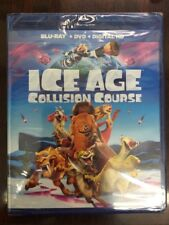 Ice Age 5 : Collision Course Blu-Ray + DVD + Digital HD Ultraviolet NEW