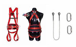 Profi Sicherheitsgurt Klettergurt Kletterausrüstung Baumpflege Fallschutz EN361