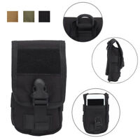 Tactical Universal Army Mobile Phone Cover Case Belt Loop Hook Bag Pouch Holster