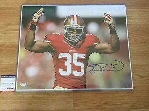 Eric Reid Signed SF San Francisco 49ers 16x20 Photo PSA DNA COA Autographed b