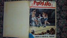 RIVISTA PUGILATO ANNATA COMPLETA 1957 RILEGATA