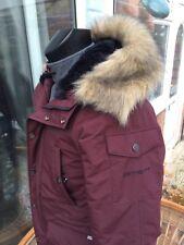 Carhartt Anchorage Parka de Piel con Capucha Cálido Xs Ideal para el invierno Super cálido Parker